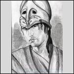 """Книги под рукой не было, и я совсем забыла, что шлем у Арея """"конегривый"""", помнила только, что глухой"""